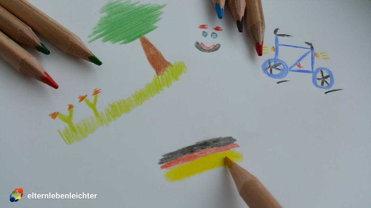 Wie Sie in der Kindererziehung mit Kindern malen lernen und die Entwicklung Ihres Kindes beim Malen deutlich fördern